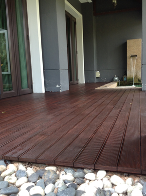 Timber Decking Solid Wood Engineered Wood Or Wpc